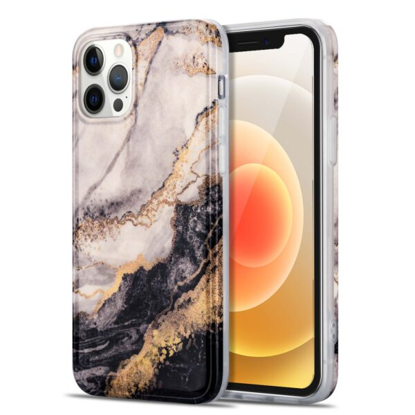 iPhone 12 Pro Max Case Marble Pattern Shockproof Protective Cover